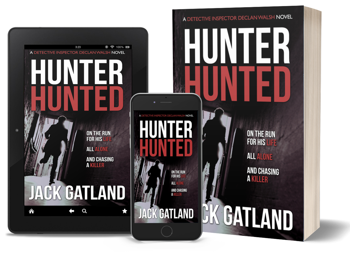 HUNTER HUNTED: available now