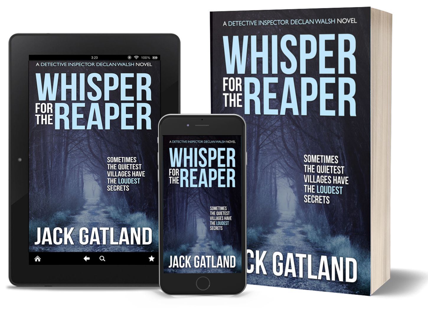 WHISPER FOR THE REAPER: available April 2021