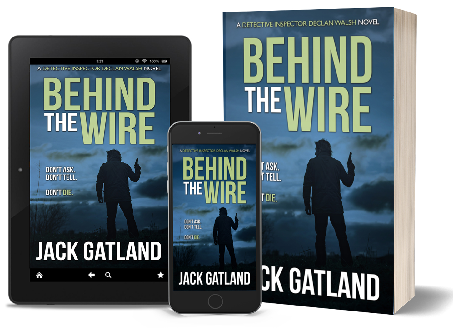 BEHIND THE WIRE: available August 2021